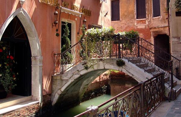 Footbridge in Venice